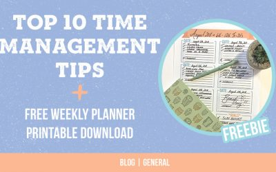 Top 10 Time Management Tips for Small Business Owners