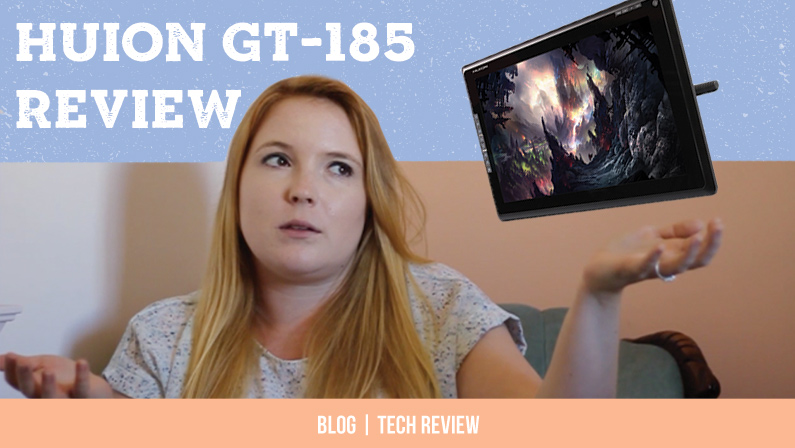 Huion GT-185 Tablet Review From A Graphic Designer
